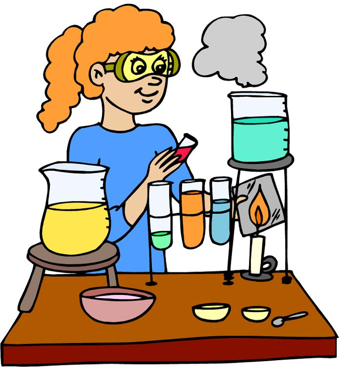 694x750 student studying science clipart