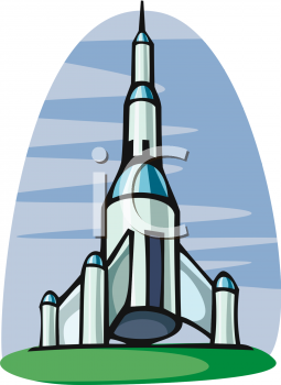 255x350 Royalty Free Rocket Clip art, Science Fiction Clipart