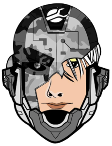 231x300 Science Fiction Face Clip Art