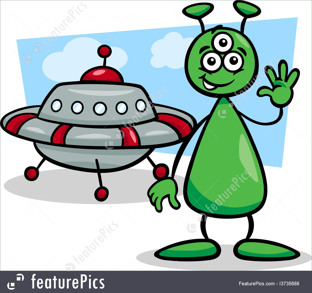 1300x1219 Spaceship clipart science fiction