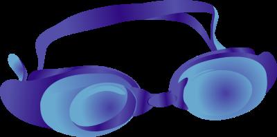400x199 Goggle Clip Art