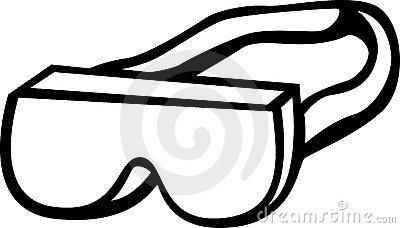 400x228 Goggles Clipart Construction
