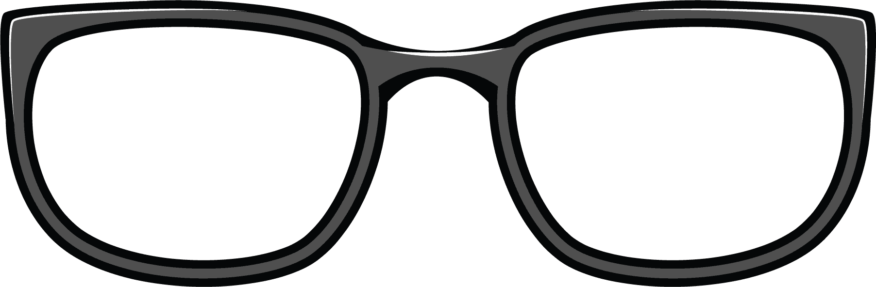1804x592 Free Clipart Goggles Eyes