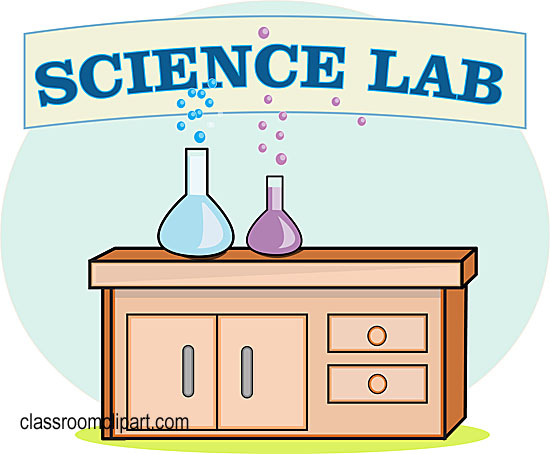 550x454 Free Science Lab Clipart Image