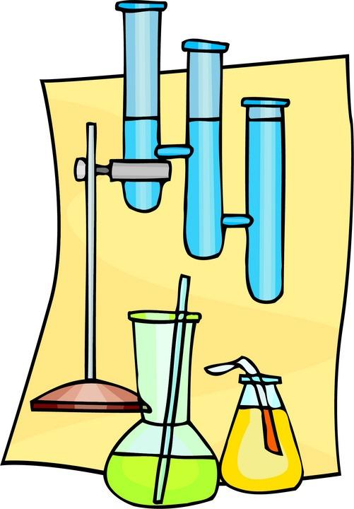 501x720 Science Lab Clip Art