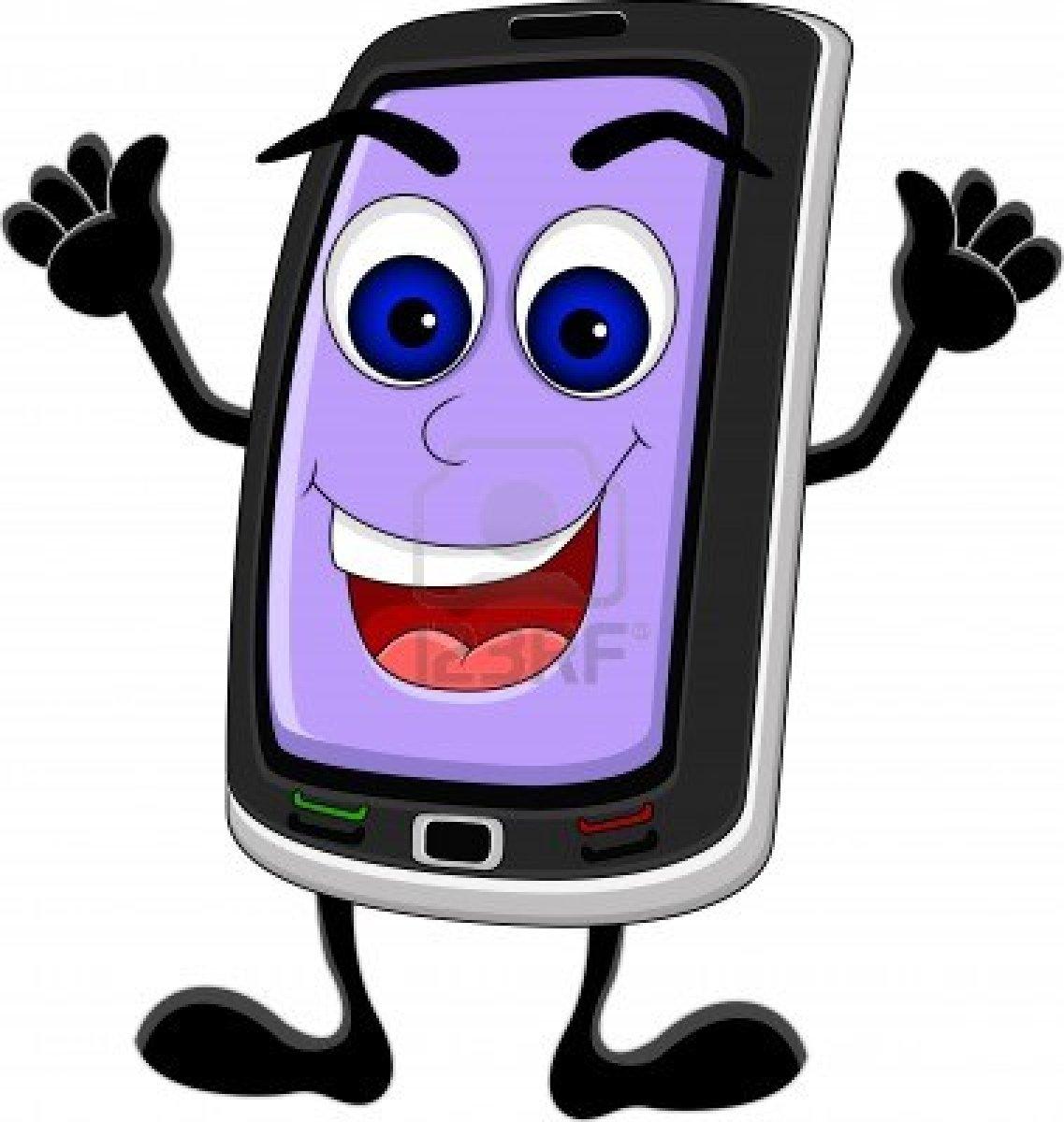 1137x1200 Cartoon Of Smartphone Clipart
