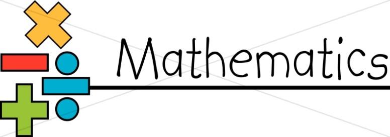 776x273 School Subject Of Mathematics Christian Education Word Art