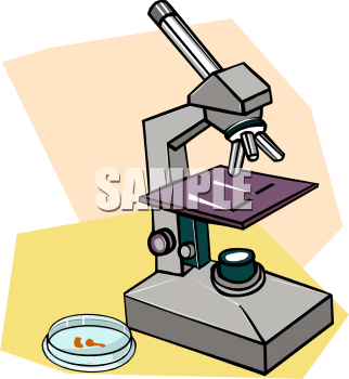 322x350 Royalty Free Microscope Clip Art, Science Clipart