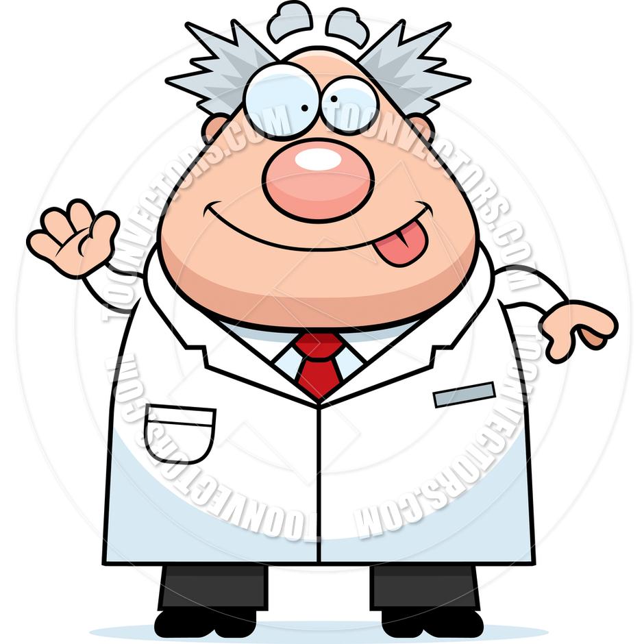 940x940 Cartoon Scientist Clipart