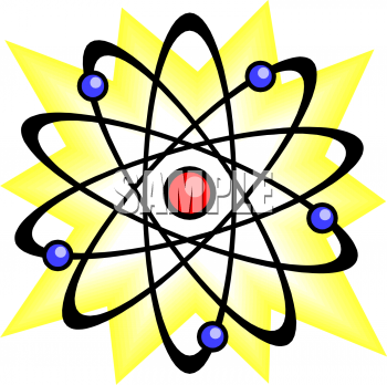 350x348 Royalty Free Atom Clip Art, Science Clipart