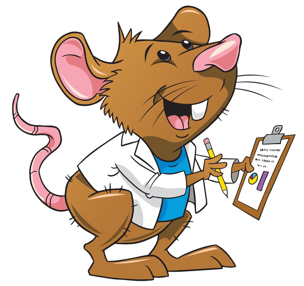 1000x940 Science Clipart Rat
