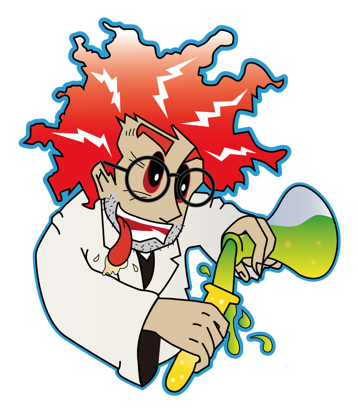 1149x1320 Mad Scientist Clipart