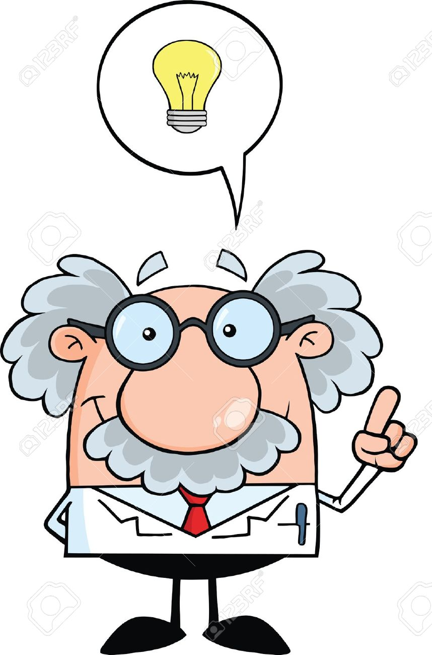 858x1300 Scientist Clipart