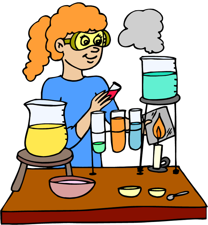 694x750 Scientist Clipart Science Lab