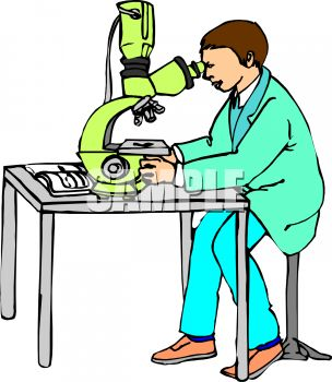 304x350 Scientist Or Researcher Using A Powerful Microscope