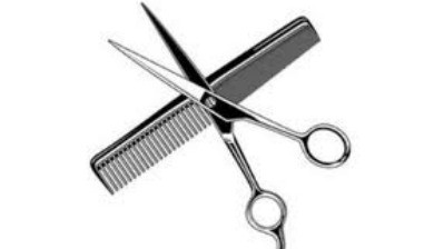 Scissors And Comb Clipart