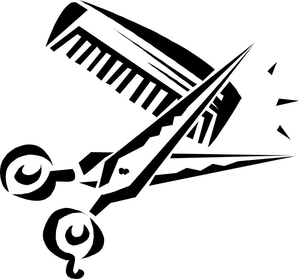 961x899 Hair Stylist Clip Art
