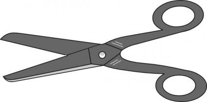 425x209 Scissors Grey Scissor Clip Art Free Vector In Open Office Drawing