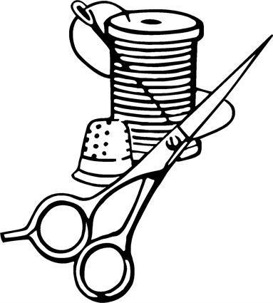 383x425 Scissors Clip Art Archives