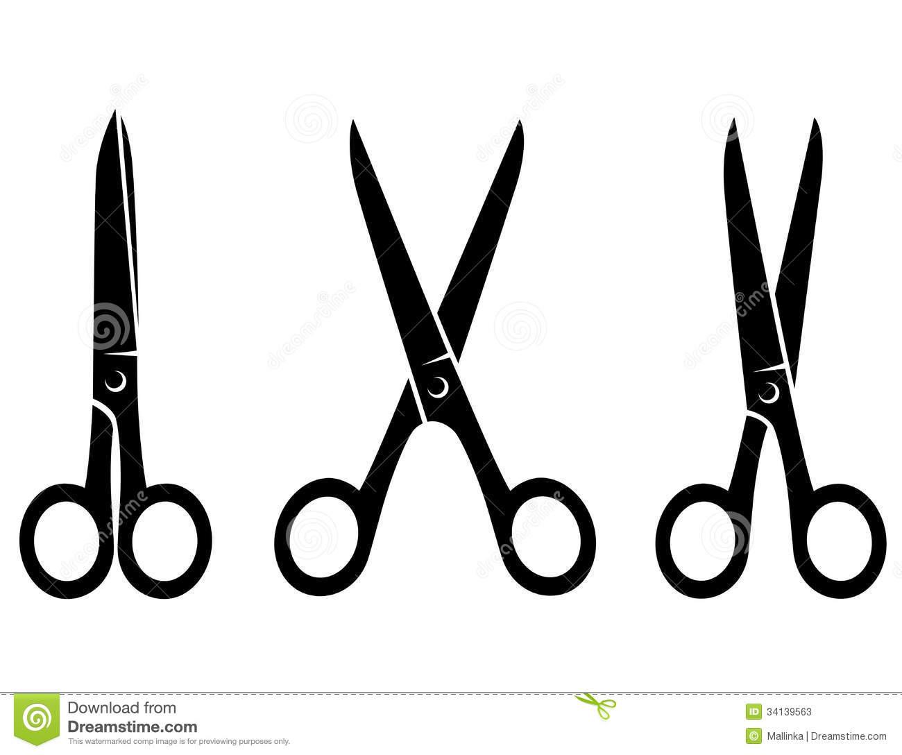 1300x1088 Black Barber Scissors Clip Art