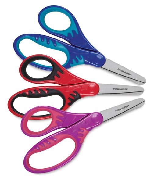 505x600 Fiskars Softgrip Precision Tip Kids Scissors