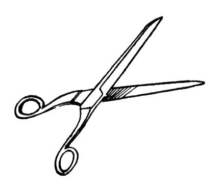 429x371 Scissors Free Stock Photo Illustration Of A Pair Of Scissors