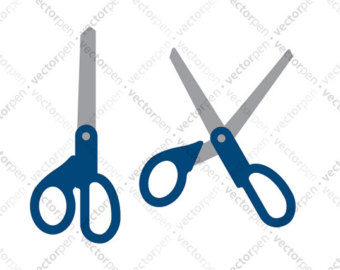 340x270 Scissors Clipart Etsy