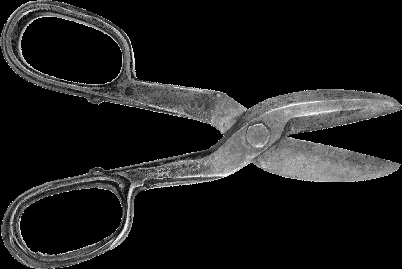 3000x2012 Vintage Scissors Drawing Transparent Png