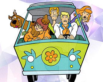 340x270 Scooby Doo Clip Art Etsy