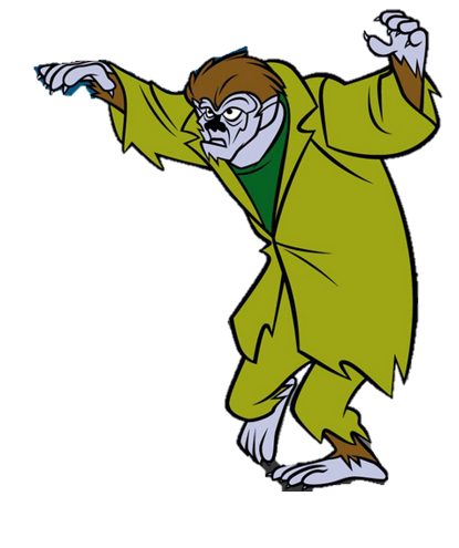 415x495 Werewolf Clipart Scooby Doo