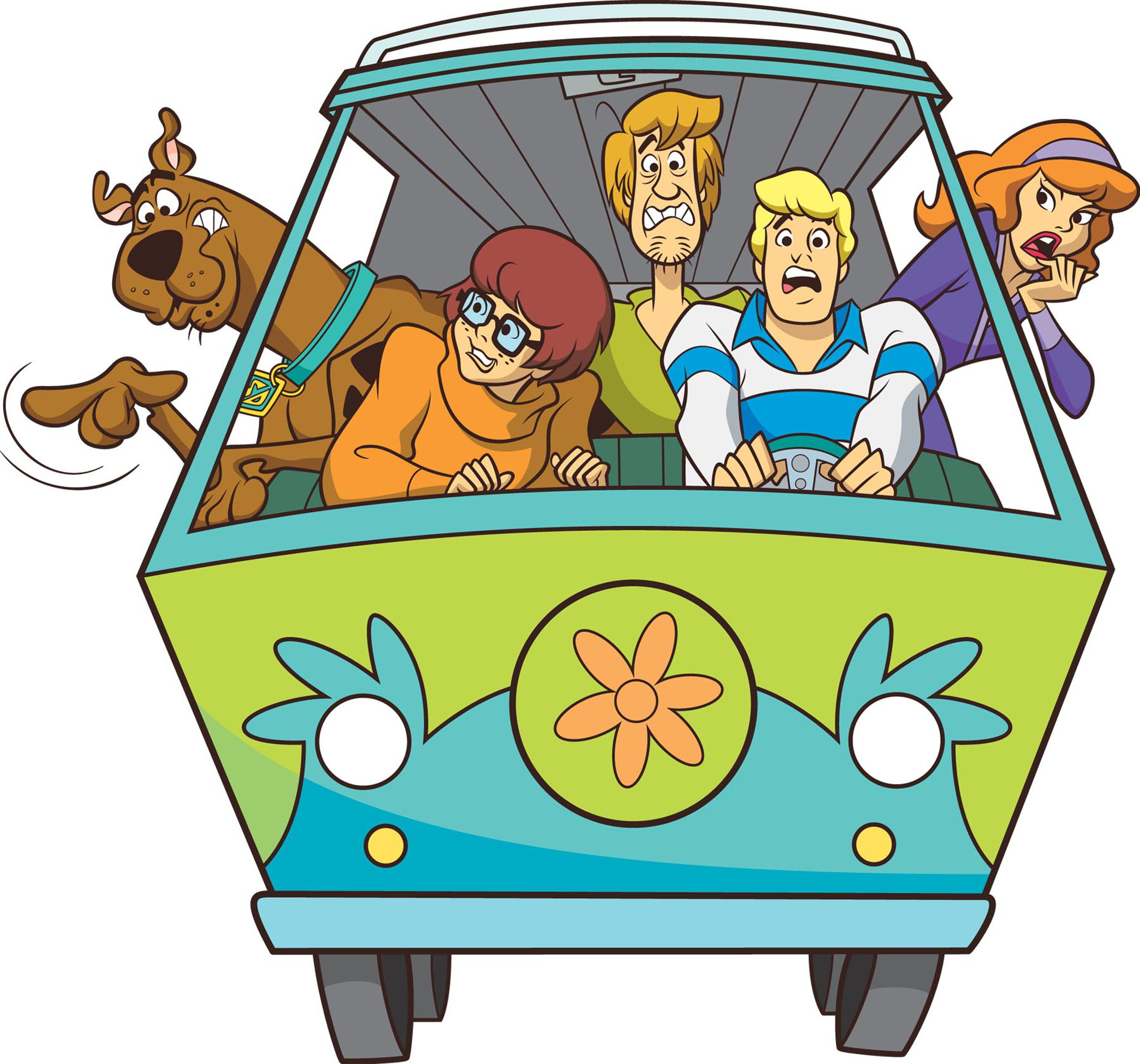 2627x2453 And The Mystery Machine Scooby Doo Clip Art Cliparts