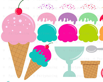 340x270 Dall Clipart Ice Cream