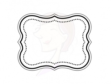 375x282 Digital Clipart Frame