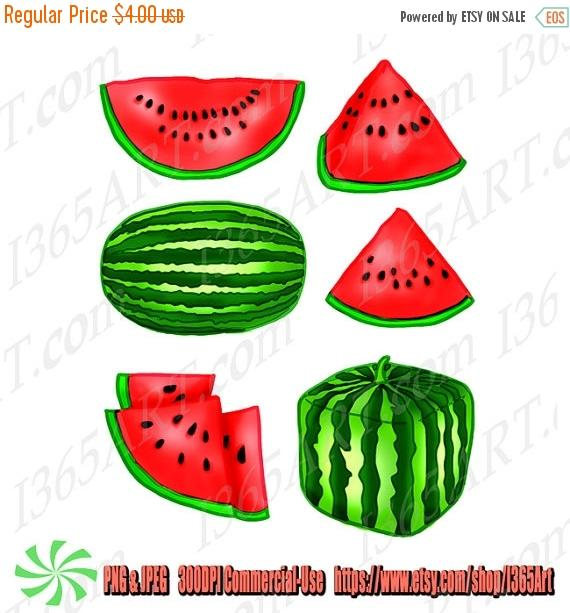 570x613 50% Off Watermelon Fruit Clipart, Watermelon Clip Art, Party