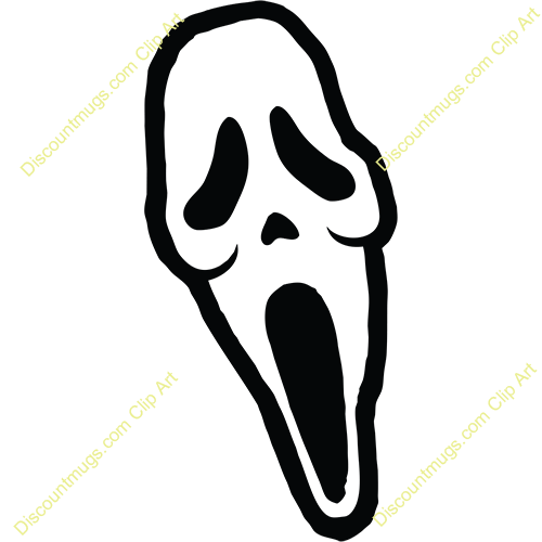 500x500 Scream Clipart
