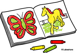 255x177 Coloring Book Clipart