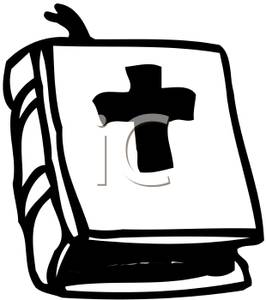 266x300 Black And White Bible Clipart Clipart Panda