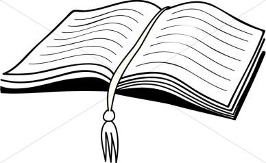 388x238 Scripture Clipart Black And White