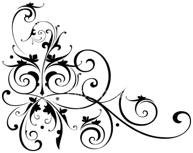 380x301 Scroll artwork designs Clipart Panda