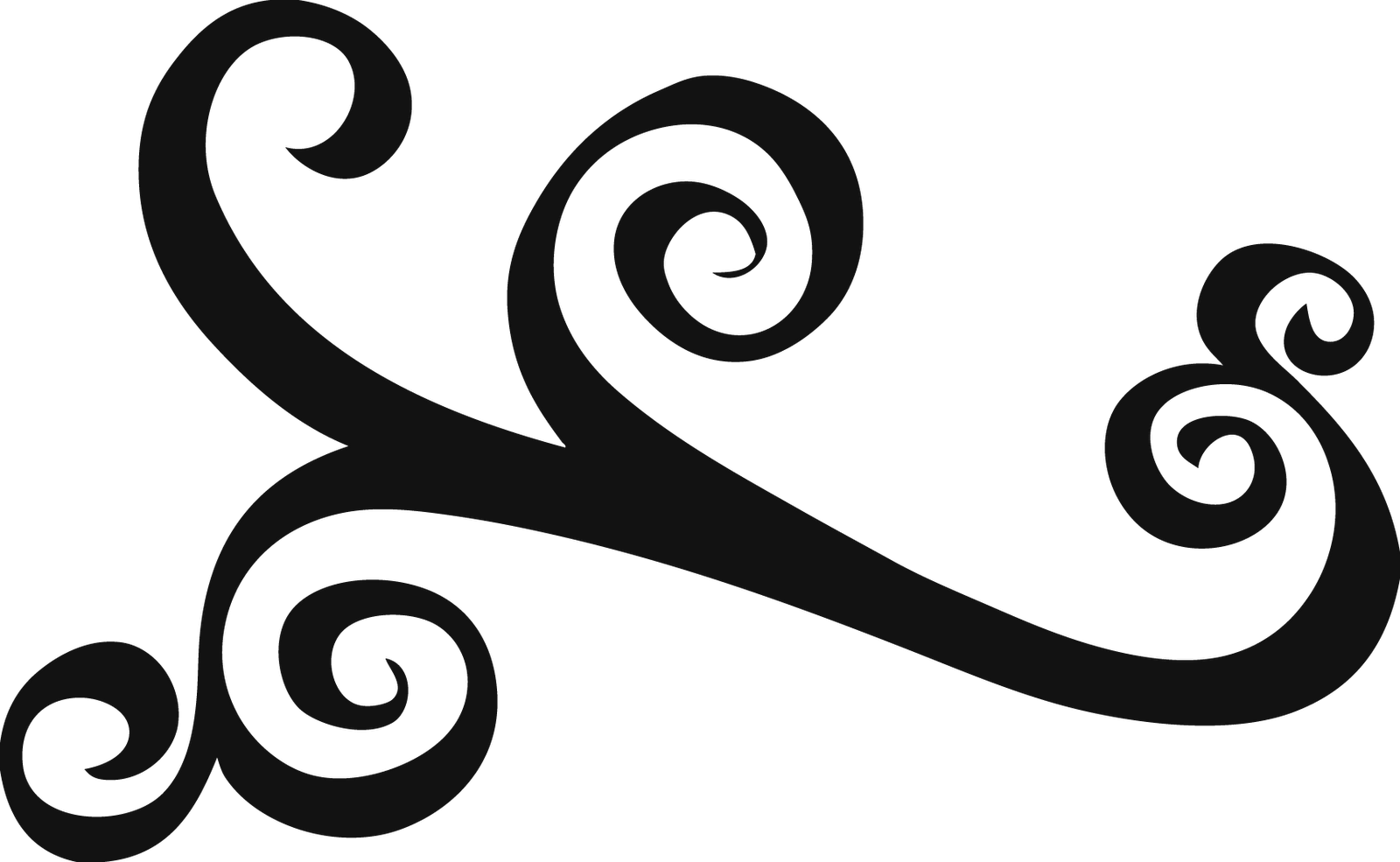 1600x985 Scroll clipart swirls