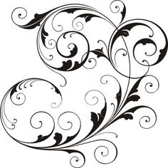 236x236 Various Scroll Designs. Scroll Design, Vector Art And Art