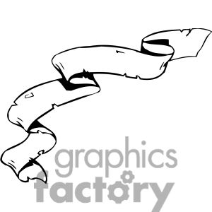 300x300 Scroll Weathered Clip Art, Pictures, Vector Clipart, Royalty Free
