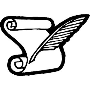 300x300 Quill And Scroll Clipart