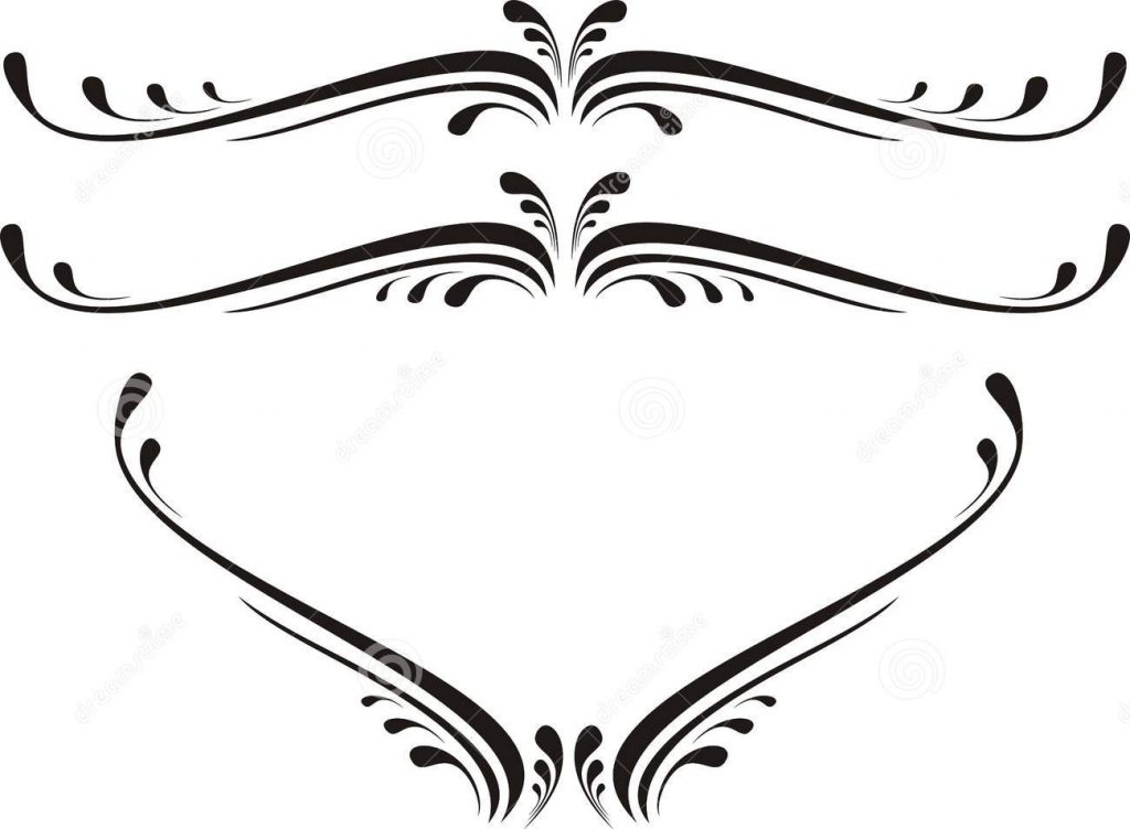 1024x752 Scroll Clipart Heart Scroll