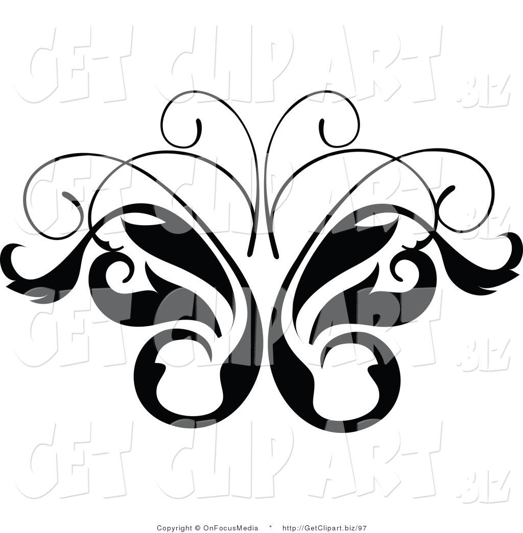 1024x1044 Black And White Scroll Designs Clip Art