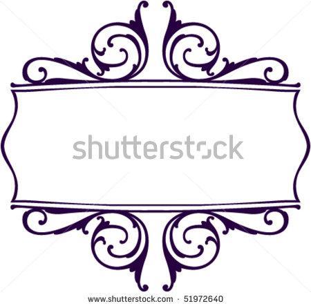 450x443 Decorative Scroll Clipart