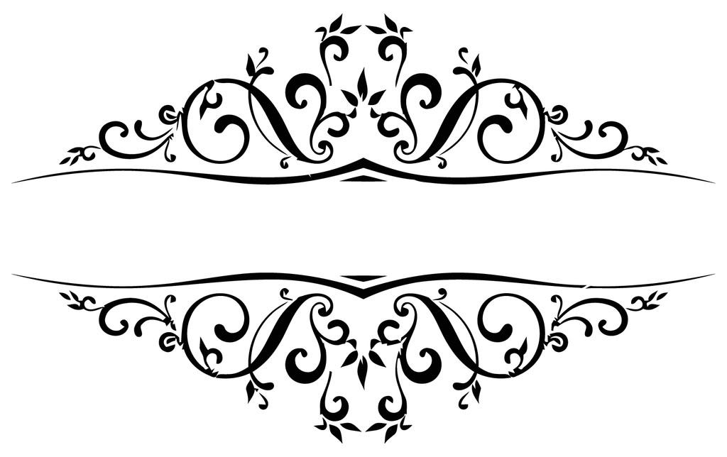 1024x644 Decoration Clipart Wedding Scroll