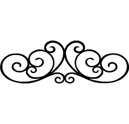 442x425 Design Clipart Photos Of Decorative Scroll Clip Art Simple Work 2