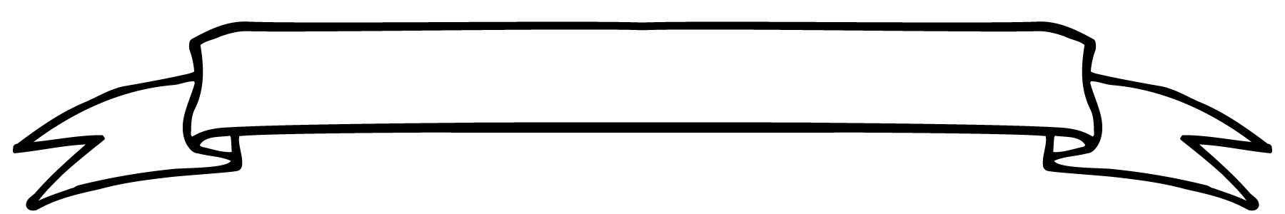 1800x300 Clip Art Banners Border Ribbon Scroll 101 Clip Art On White