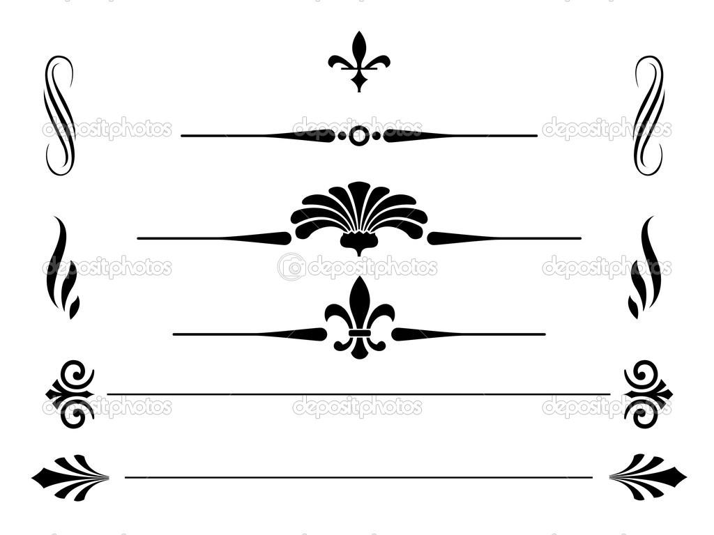1024x768 Free Vector Borders Clipart
